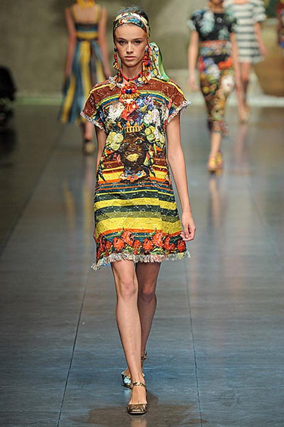 Dolce & Gabbana Spring Summer Holiday Fashion  2013_07