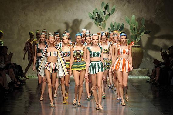 Dolce & Gabbana Spring Summer Holiday Fashion  2013_12