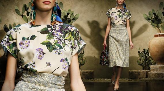 Dolce & Gabbana Spring Summer Holiday Fashion  2013_15