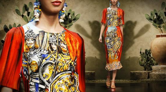Dolce & Gabbana Spring Summer Holiday Fashion  2013_16