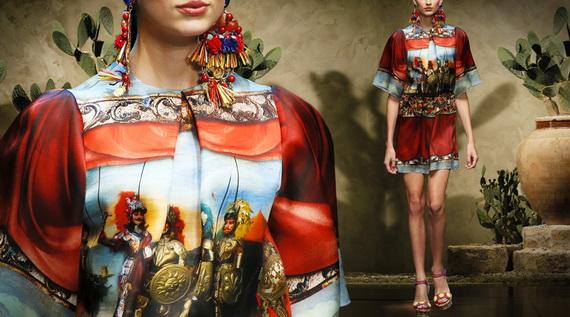 Dolce & Gabbana Spring Summer Holiday Fashion  2013_18