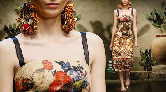 Dolce & Gabbana Spring Summer Holiday Fashion  2013_19