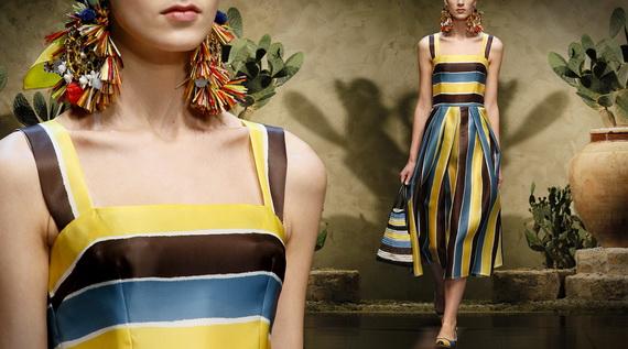 Dolce & Gabbana Spring Summer Holiday Fashion  2013_22