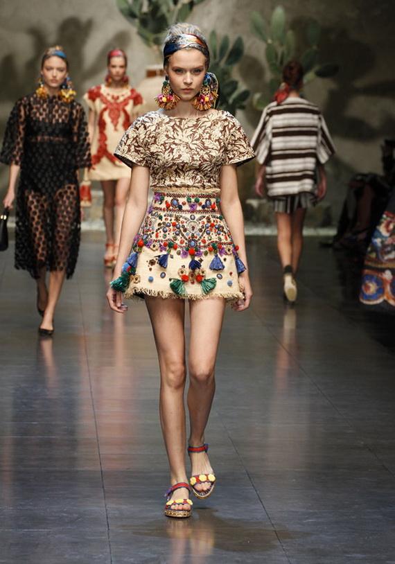 Dolce & Gabbana Spring Summer Holiday Fashion  2013_24