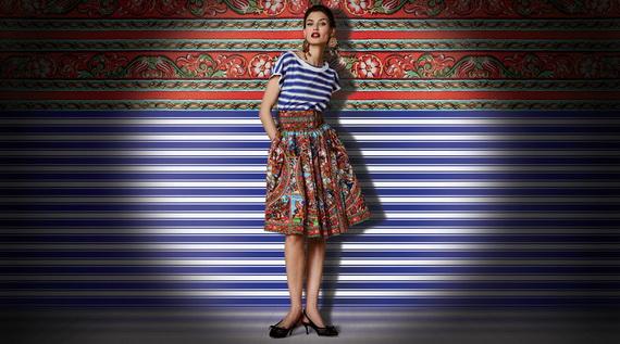 Dolce & Gabbana Spring Summer Holiday Fashion  2013_29