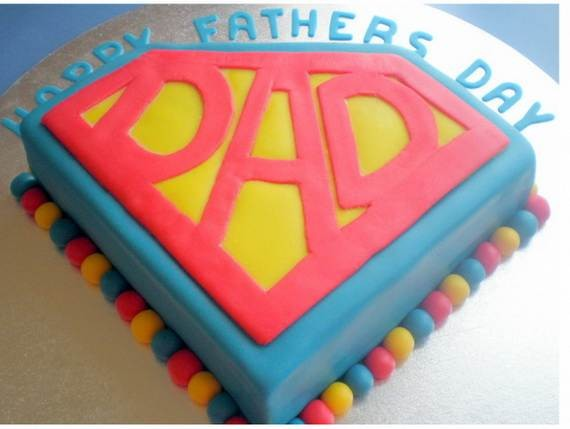 60 Best Creative Homemade Fathers Day Cakes Ideas family holiday