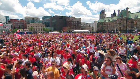 History of Canada Day Celebrations (1)