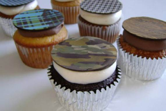 Impressive-Cupcakes-for-Men-On-Father's-Day-