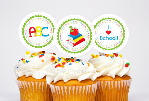 Back to School Cake and Cupcake Ideas_32