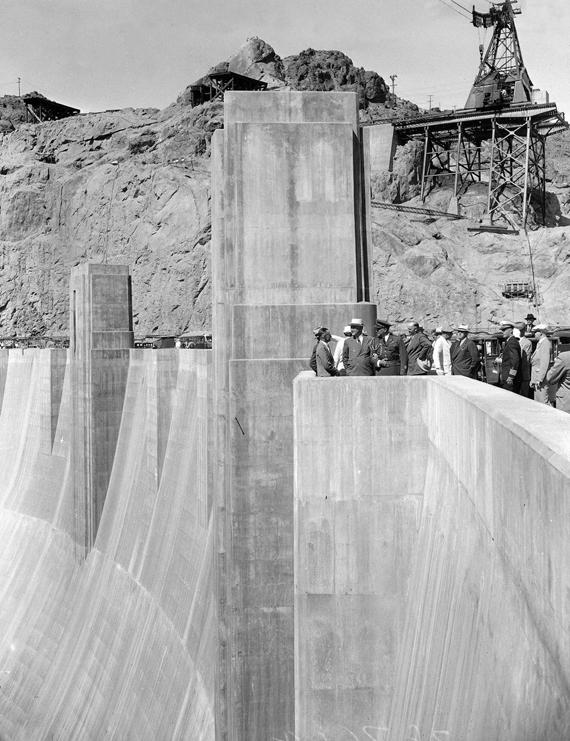FDR At Boulder Dam 1935