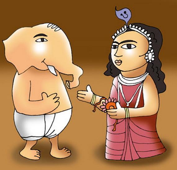Raksha Bandhan  Rakhi History and Origin _03