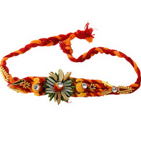 Traditional Rakhi Styles and designs on Raksha Bandhan _03