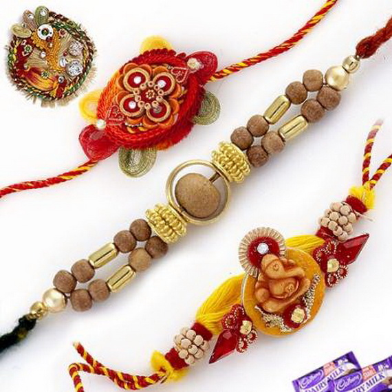 Traditional Rakhi Styles and designs on Raksha Bandhan _04