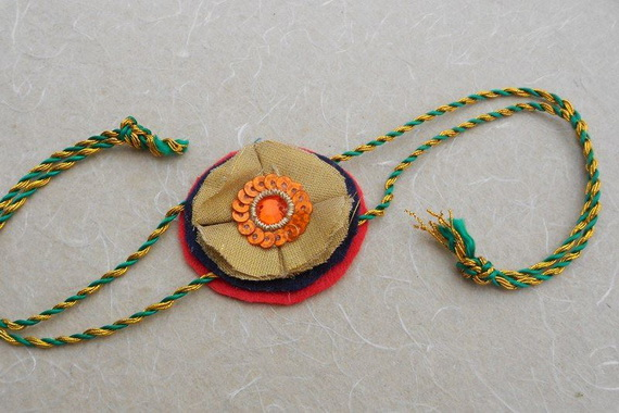 Traditional Rakhi Styles and designs on Raksha Bandhan _07