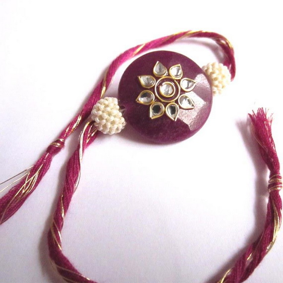 Traditional Rakhi Styles and designs on Raksha Bandhan _08