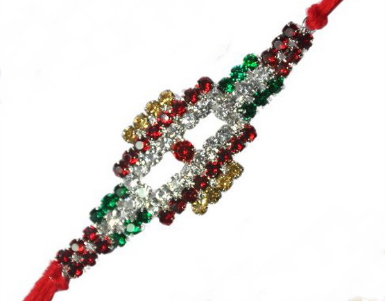 Traditional Rakhi Styles and designs on Raksha Bandhan _13