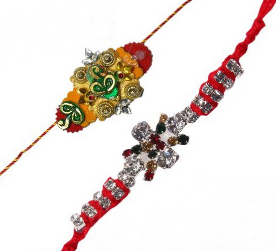 Traditional Rakhi Styles and designs on Raksha Bandhan _14
