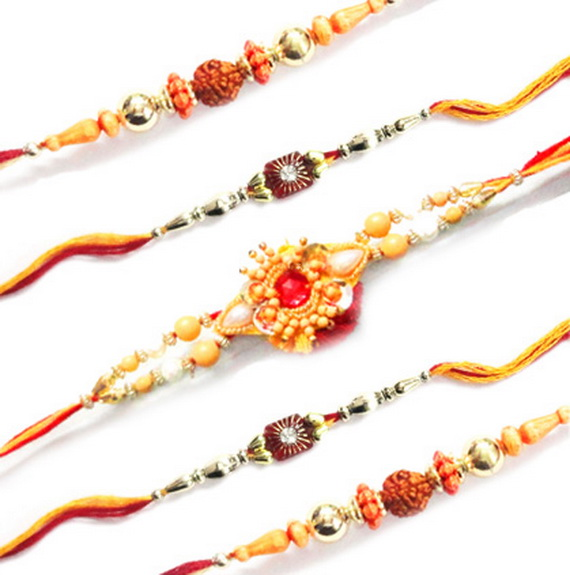 Traditional Rakhi Styles and designs on Raksha Bandhan _21