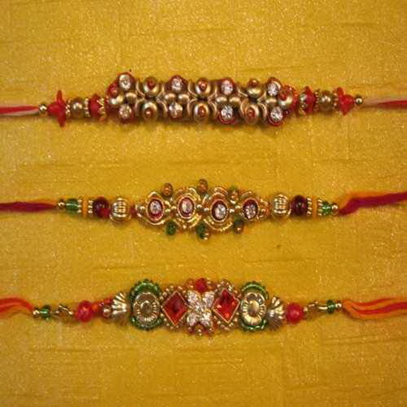 Traditional Rakhi Styles and designs on Raksha Bandhan _25