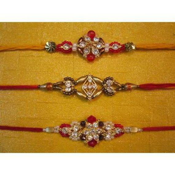 Traditional Rakhi Styles and designs on Raksha Bandhan _36