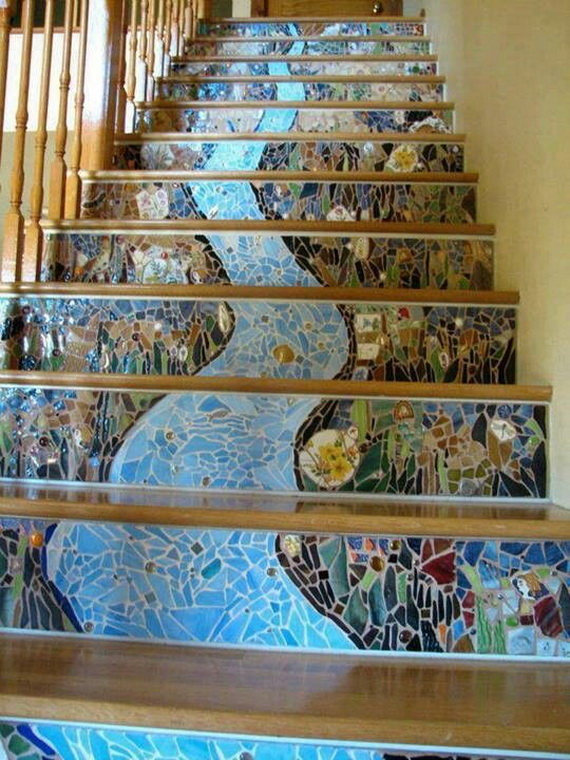 50 Unique Fall Staircase Decor Ideas_02