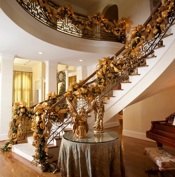 50 Unique Fall Staircase Decor Ideas_11