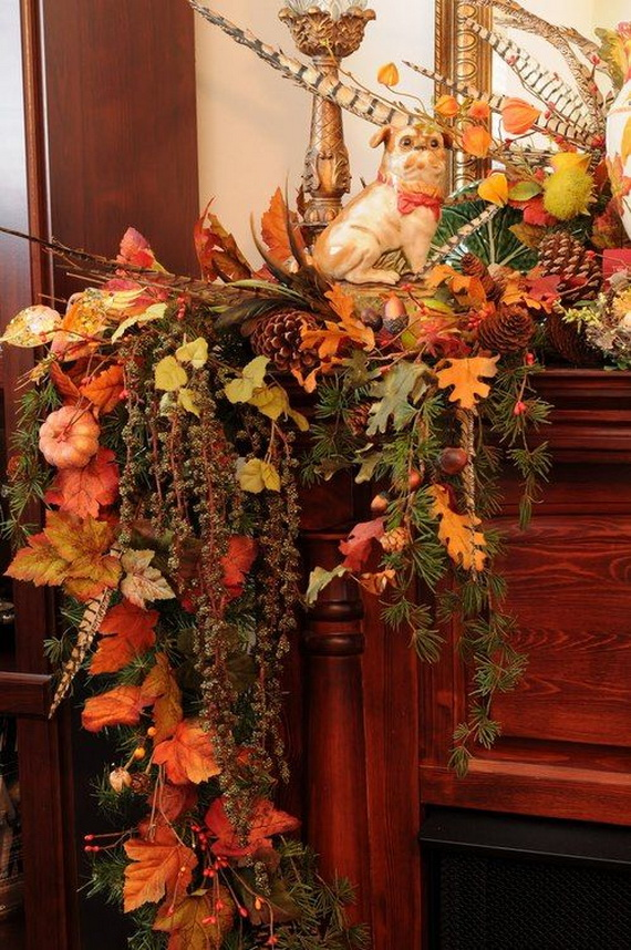 50 Unique Fall Staircase Decor Ideas_27
