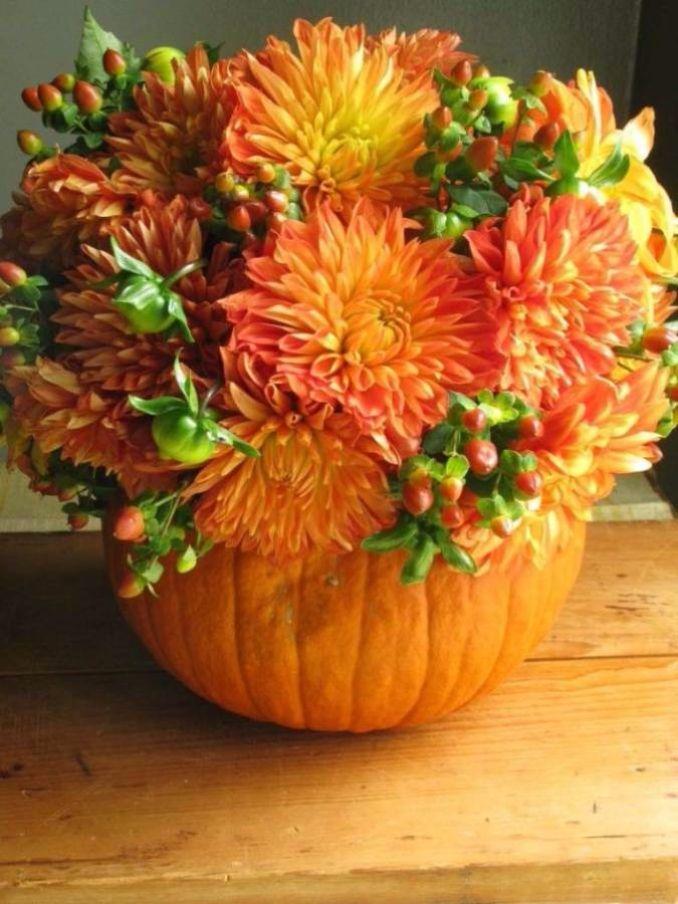 Amazing Pumpkin Centerpieces (3)