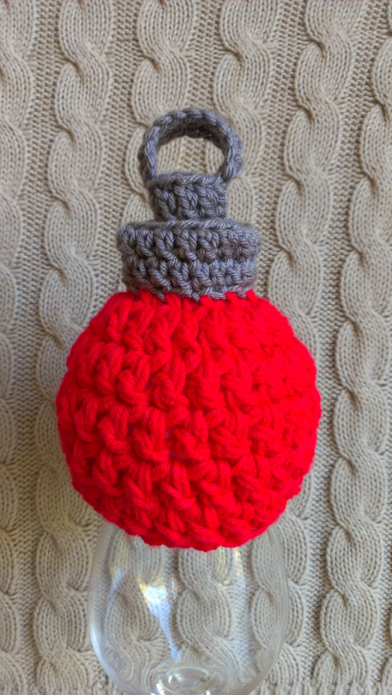 Christmas Decor – Knit Christmas Tree Ornament craft ideas.   (27)