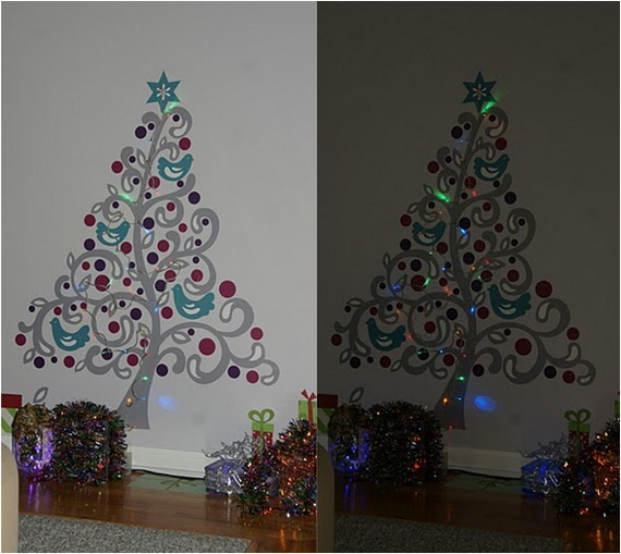 Christmas Decoration Ideas for Kids Room - Wall Decals_05