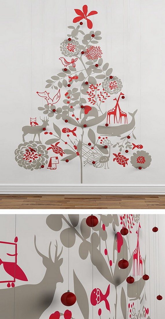Christmas Decoration Ideas for Kids Room - Wall Decals_09