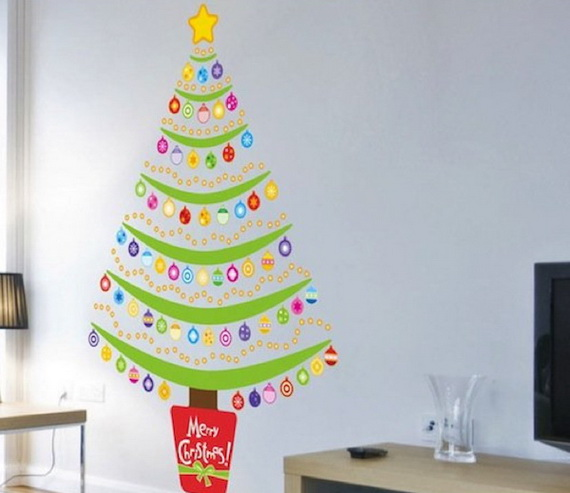 Christmas Decoration Ideas for Kids Room - Wall Decals_15