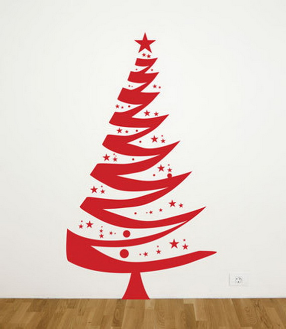 Christmas Decoration Ideas for Kids Room - Wall Decals_17