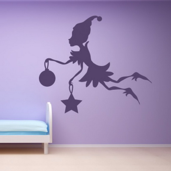 Christmas Decoration Ideas for Kids Room - Wall Decals_22