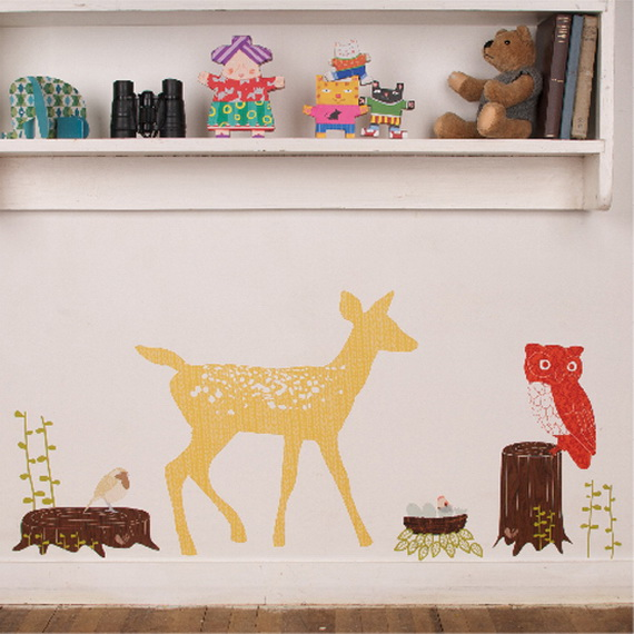 Christmas Decoration Ideas for Kids Room - Wall Decals_32