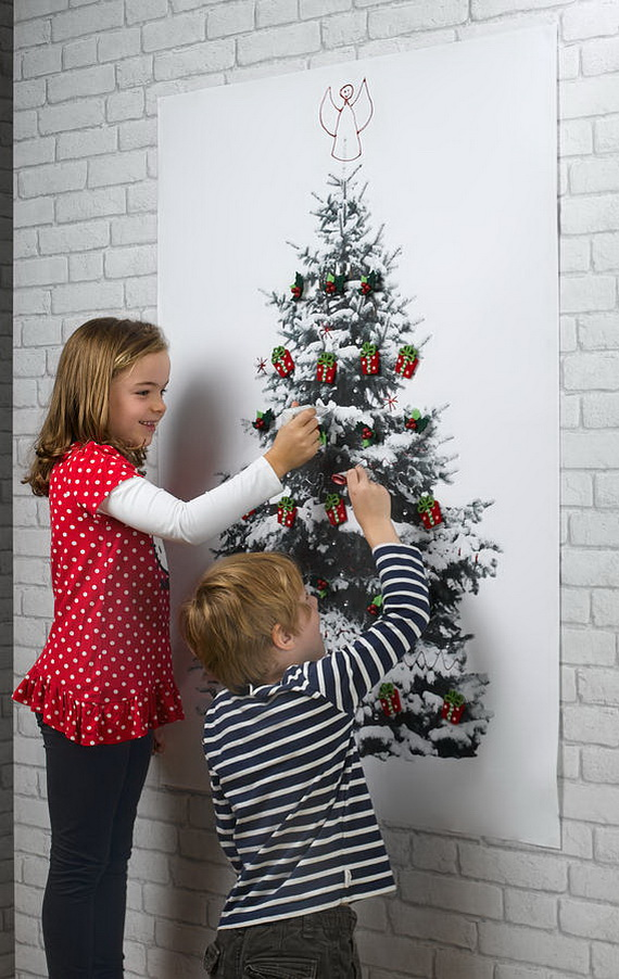 Christmas Decoration Ideas for Kids Room - Wall Decals_43