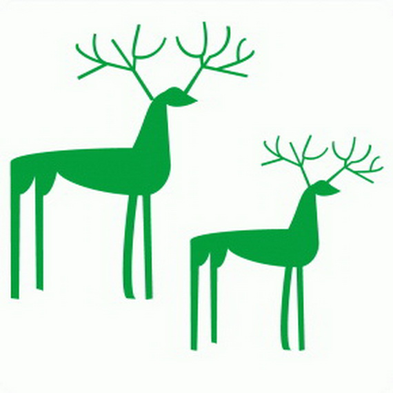 Christmas Decoration Ideas for Kids Room - Wall Decals_47