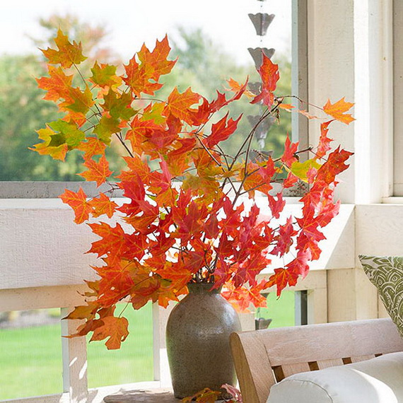 Easy Ways Using Autumn Leaves _05