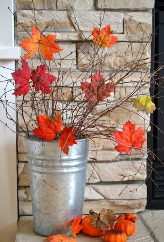 Easy Ways Using Autumn Leaves _06