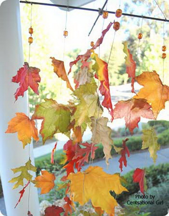 Easy Ways Using Autumn Leaves _10_1