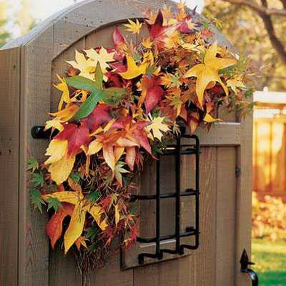 Easy Ways Using Autumn Leaves _11_1