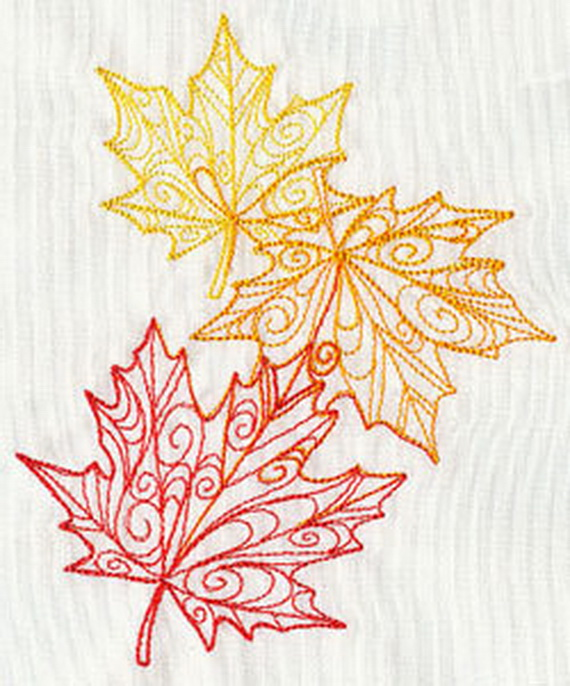 Easy Ways Using Autumn Leaves _14_1