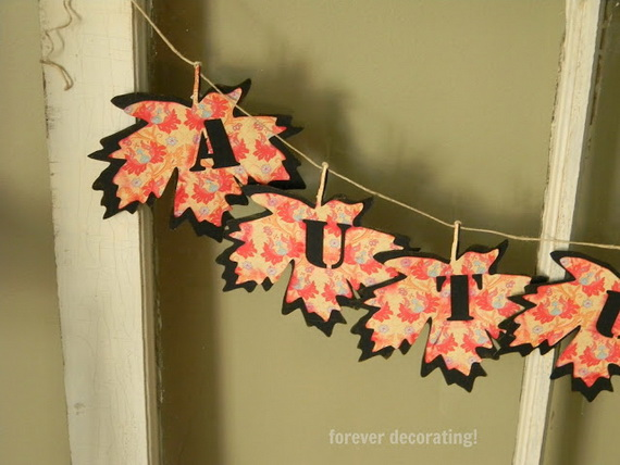 Easy Ways Using Autumn Leaves _17
