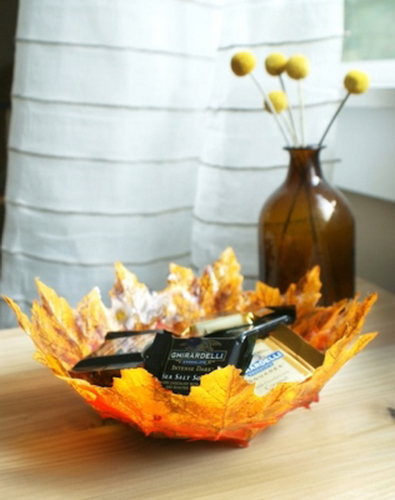 Easy Ways Using Autumn Leaves _18