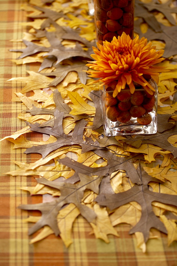 Easy Ways Using Autumn Leaves _20_1