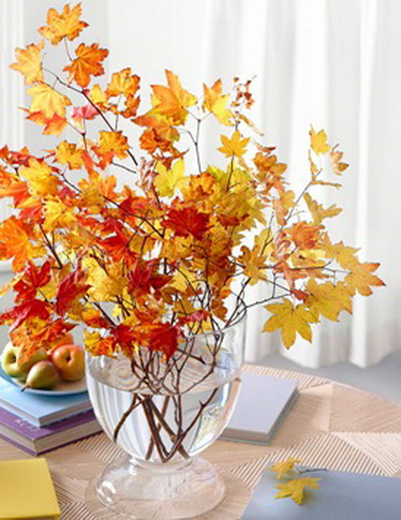 Easy Ways Using Autumn Leaves _22