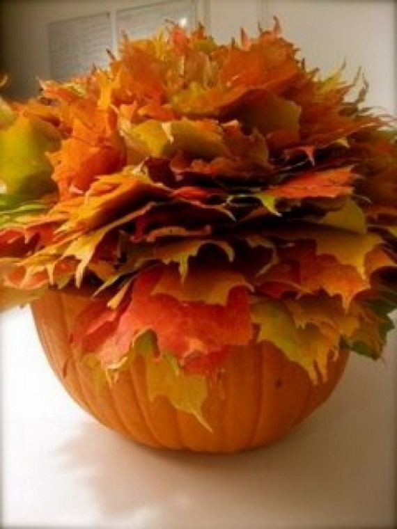 Easy Ways Using Autumn Leaves _24