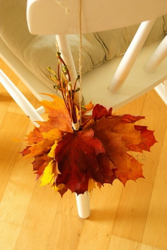 Easy Ways Using Autumn Leaves _26