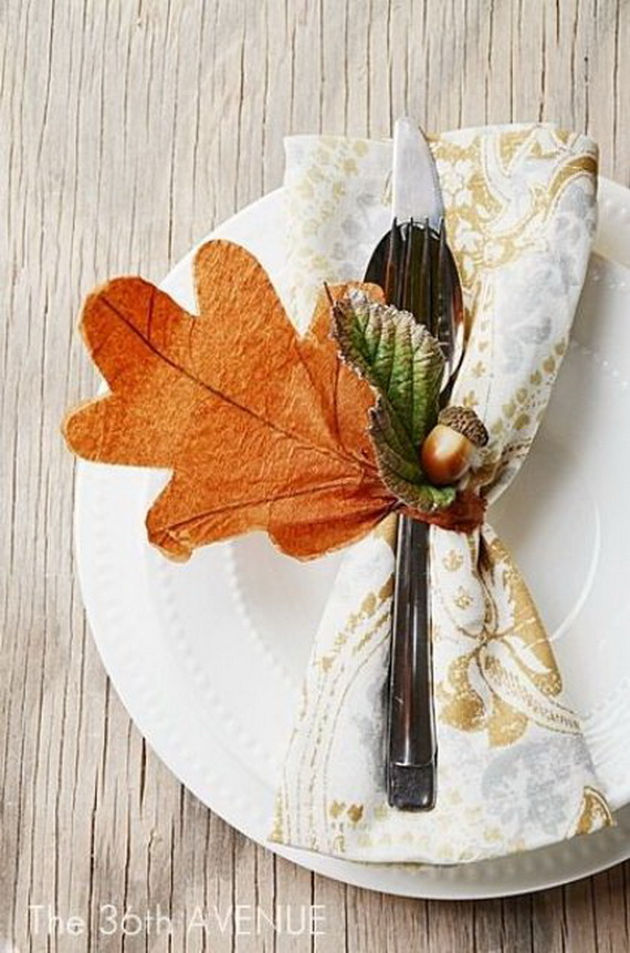Easy Ways Using Autumn Leaves _41