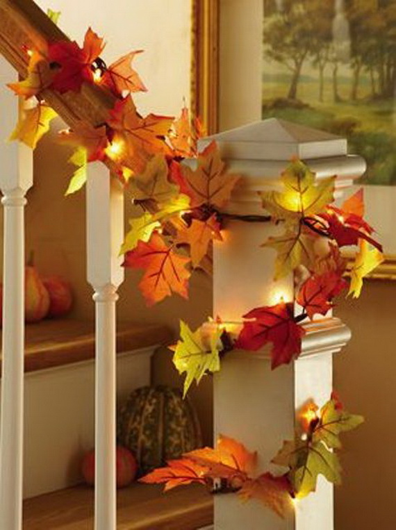 Easy Ways Using Autumn Leaves _44